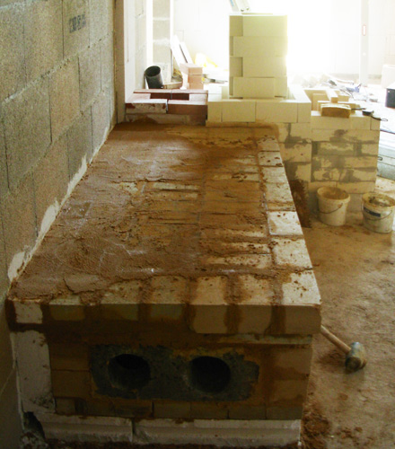 Construire un foyer fiche bricolage maonnerie monter un for Foyer exterieur costco